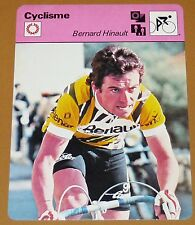 CYCLISME CICLISMO BERNARD HINAULT TOUR FRANCE GIRO GP NATIONS VUELTA BLAIREAU