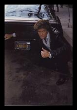 DAVID HASSELHOFF - KNIGHT RIDER AUTOGRAPHED SIGNED & FRAMED PP POSTER PHOTO