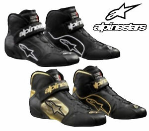 Alpinestars Tech 1-Z Boots FIA Approved for Oval / Rally / Circuit Race LEATHER