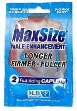 MaxSize Penis Erection Enhancement Herbal pills max Size 4 Pks Of 2 (8 pills)