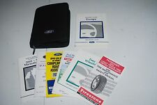 ★★2001 FORD ESCAPE OWNERS MANUAL & CASE-USER GUIDE COVER 01 OWNER'S BOOK