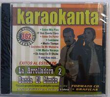 LA ARROLADORA BANDA EL LIMÓN Y BANDA EL LIMÓN 2 Karaokanta Karaoke New Sealed