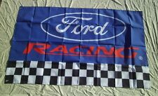 Ford Racing 3' X 5' Polyester Flag Banner Man Cave Bar Shop New #153