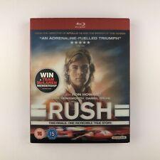 Rush (Blu-ray, 2014) ls (Red Case)
