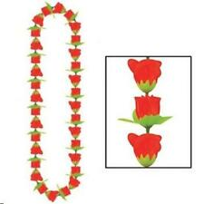 Rose Lei Horse Racing Luau Wearable Birthday Party Decorations