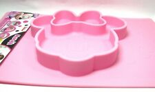 Minnie Mouse Pink 3D Placemat Bowl Suction Silicone Baby Toddler Feeding Disney