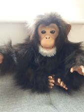 Fur Real Furreal Friends Cuddle Chimp Chimpanzee Monkey