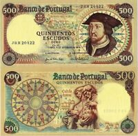 PORTUGAL 500 Escudos from 1979, Ch.10, PTE, UNC