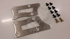 Adjustable LS1 Engine Swap Brackets Billet aluminum  Motor Mount Adapter Plates