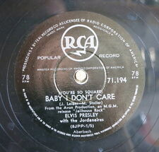 "Elvis Presley / Baby I Don`t Care & Young And Beautiful"" (18-0913)"