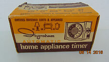 Vintage Ingraham Automatic Home Appliance Timer Ingraham