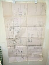 "MOTO GUZZI 850 T , 1973, blueprint Wiring diagram , 42"" , 107 cm"
