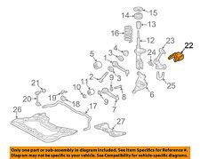 MERCEDES OEM 07-13 S550 Ride Control-Front Leveling Rear Sensor 0105427717