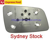 LEFT PASSENGER HOLDEN ASTRA (TS) 1998 - 2005 MIRROR GLASS WITH HEATED BASE