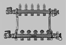 Rehau Stainless Steel Pro Balance Radiant Heat Manifold 5 Circuit 381105 001