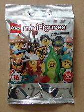 Lego Mini Figure Llama Costume Girl  Series 20      (G38)