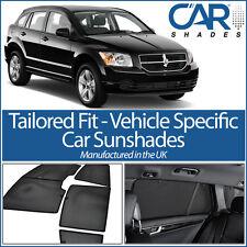 Dodge Caliber 5dr 07-12 UV CAR SHADE WINDOW SUN BLINDS PRIVACY GLASS TINT BLACK