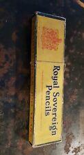 WOLFFS Royal Sovereign Pencils Vintage Royal Sovereign Pencil Co Ltd & contents