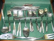 American Stainless Flatware INS88 Rose 60pc Set - No Box