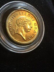 GEORGE III 1804 GOLD THIRD-GUINEA S3740 GEF