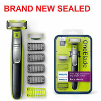 Philips Norelco OneBlade Face/Body hybrid electric trimmer shaver, QP2630/70 NEW