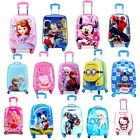 Kids Toddler carry On Hard Shell Cartoon Suitcase/Luggage Light Weight Sydney <br/> Sydney STOCK + 1 FREE GIFT ( Value $30) each order!