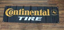 New Continental Tire Banner Flag 1.5 x 5 Car Auto Parts Racing Garage Store Shop