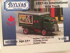 "Sylvan HO SCALE: 1937-41 INTERNATIONAL ""R.E.A."" DELIVERY TRUCK -  Kit V-150"
