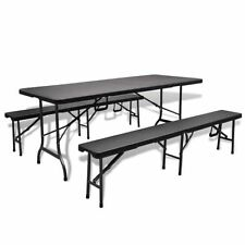 Steel Patio 3 Piece Table & Chair Sets