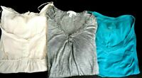 Aeropostale Women's Size Large Tops Various Styles (V-Neck, Crew Neck) Lot of 3