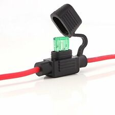 Waterproof Mini Blade Fuse Holder - Car Van Bike Taxi DIY 12v DC Battery Power