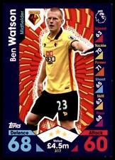 Match Attax 2016-2017 Ben Watson Watford Base card No. 317