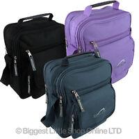 NEW Mens Ladies MetroLite CANVAS Utility Cross Body Messenger BAG Travel Work