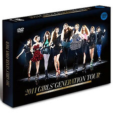 SNSD 2011 GIRLS' GENERATION TOUR 2nd Concert DVD 2DISC+Special Photo Book SEALED