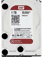 "Western Digital 3.5"" Red WD10EFRX 1TB 5400RPM 64MB Cache SATA3 NAS Desktop HDD"