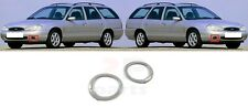 FOR FORD MONDEO MK2 1996-2000 NEW FRONT BUMPER FOGLIGHT TRIM PAIR SET
