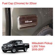 Tank Cover Fuel Cap Chrome 2Door For Mitsubishi Pickup L200 Triton at 15 - 2017