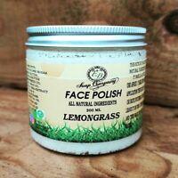 Handmade Lemon Face & Body Scrub 100% Natural Organic Bath Shower Scrub Vegan