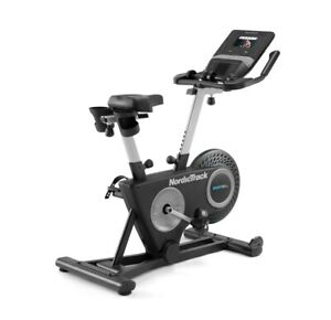 """NordicTrack Studio Bike with 7"""" Smarth HD Touchscreen and 1 Year iFit Family Mem"""