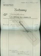 Alte Rechnung 1906 Hilschmann Körperzeichnen Verlag Heimatkarten Ludwigshafen Rh