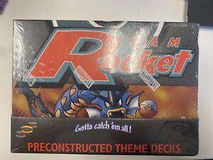 1999 Pokemon Rocket Theme Deck Case WOTC Factory Sealed (8 Boxes Inside)