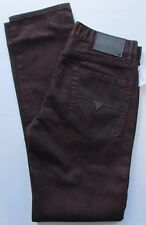 NWT Guess Jeans Marmot Red Coated Slim Fit  Size W 31 x L 32