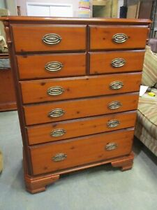 Ducal Chateau Chest of Drawers, Tallboy, 8 Drawers, 120cm High