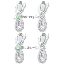 4 NEW USB 10FT Micro Charger Cable Cord for Samsung Galaxy S5 S6/Edge/Core Prime