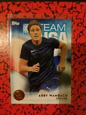 2016 Topps US Olympic Team USA Bronze #40 Abby Wambach  Soccer