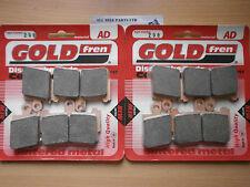 SINTERED FRONT BRAKE PADS (2x Sets)for HONDA VFR 1200 ' 2010 2011 2012 ' VFR1200