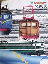 Catalogo ROCO 1989-90 - 0 H0  - DEU - Tr.1
