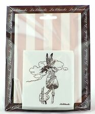 Fairy On A Mushroom Silicone Mounted Stamp LaBlanche NEW fantasy magic nature