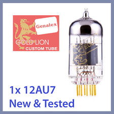 1x NEW Genalex Gold Lion 12AU7 ECC82 B749 Vacuum Tube TESTED