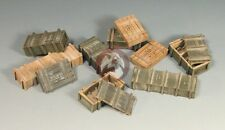Mig 1/35 WWII Soviet Ammo Boxes (10 Pieces) 35-111